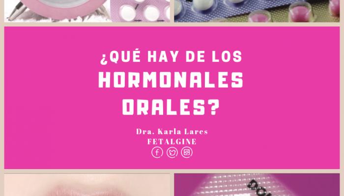 hormonales orales